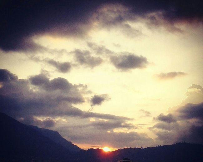 Sunset Clouds Dark