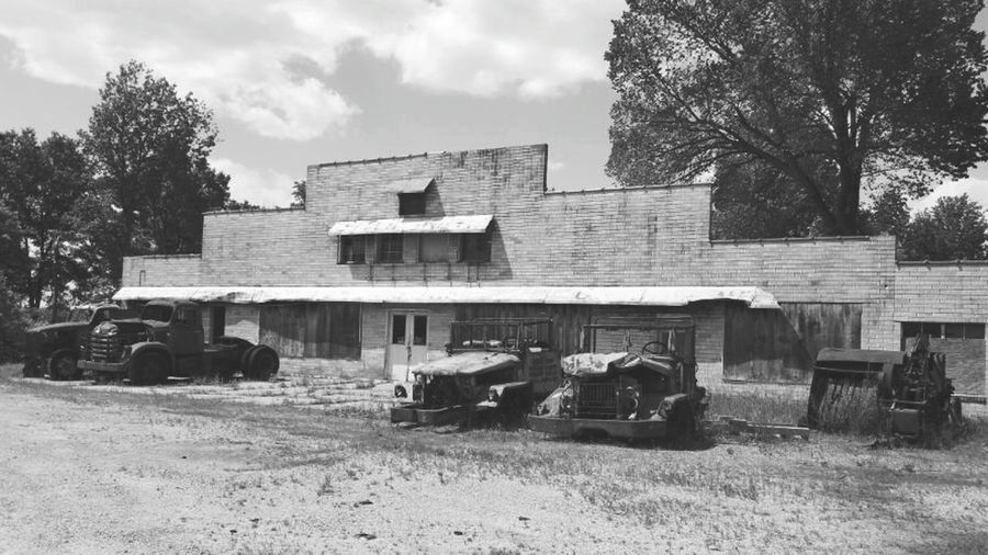 Taking Photos Old Truck Old Cars Old Ruin Rundown Derelict & Abandoned Blackandwhite Black And White Black & White Old Old Building  Left Behind Derelict Abandoned & Derelict Neglected Forgotten Abandoned Abused Old Tractor Tractor