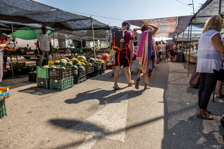 Shadow Market Retail  Sunlight Architecture Shopping Adult Day Market Stall Women City Incidental People Food And Drink Nature Buying Casual Clothing Business People Food Outdoors Consumerism Roquetas De Mar Street Market SPAIN Almería