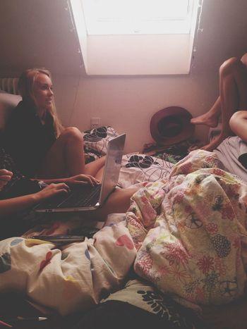 Girls Room Messy Cozy