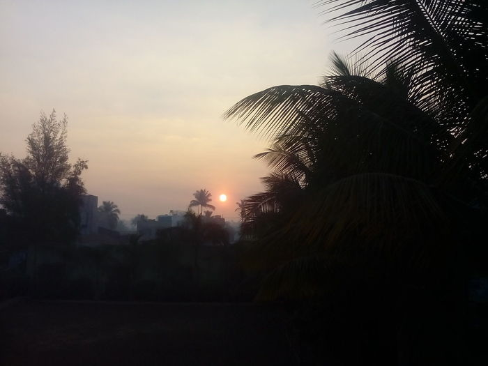 Morning Sky Tarace _view Blur_sun Fresh _Air