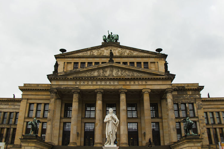 Famous landmark and architecture in berlin, germany