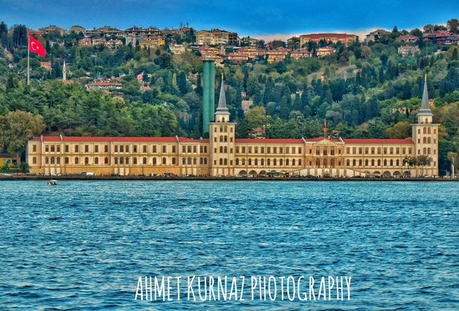 Kuleliaskerilisesi Kuleli Istanbul Ankara Water Blue Architecture Tree Built Structure Building Exterior Residential Building City Waterfront Development Community Rippled Mountain Residential District Sea Calm Outdoors Day Tranquility Human Settlement Nature