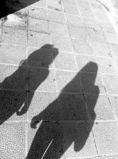 Our shadow is only the representation of our dark side. Life Black And White Holidays With Sister Beach Street Art Shadow