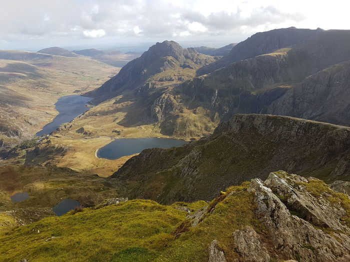 Snowdonia at it's best. Landscape Scenics Summit Y Garn