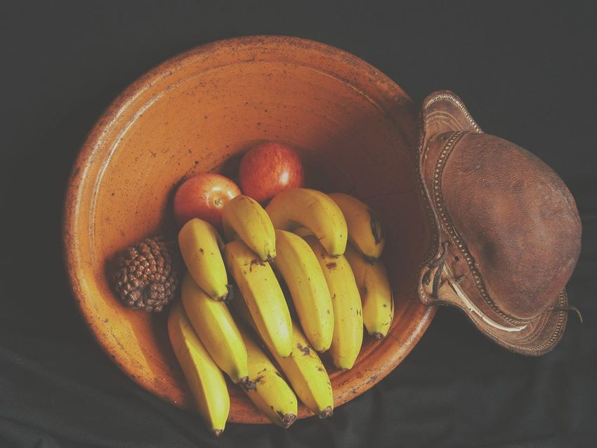 Background Banana Bowl Of Fruit Colors Of Nature Eyeem Market Food Freshness Fruit Fruit Of Summer Nordeste  Orange Color Organic Power Fruit Sertão Still Life Yellow Claypot