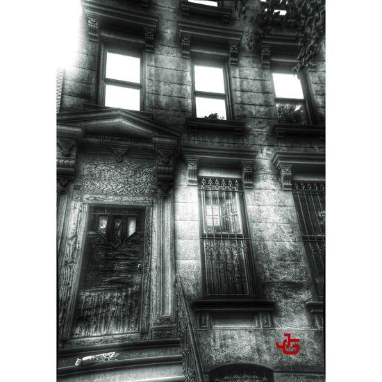 Brownstone Brooklyn Ny Brooklyn HDR EyeEm Best Shots - Black + White Sony A6000 Blackandwhite Photography Behindthelens Taking Photos A6000