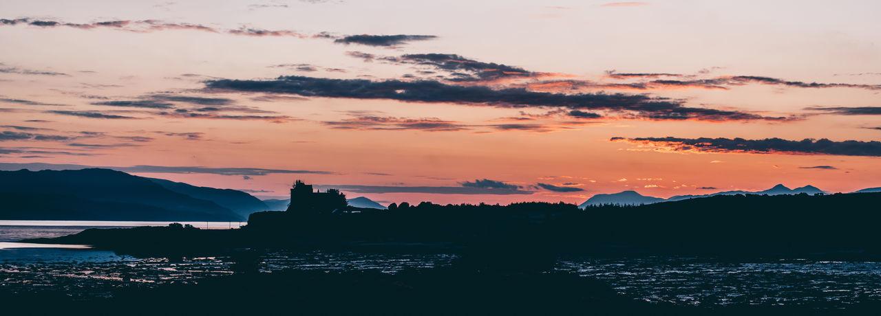 Sunrise over