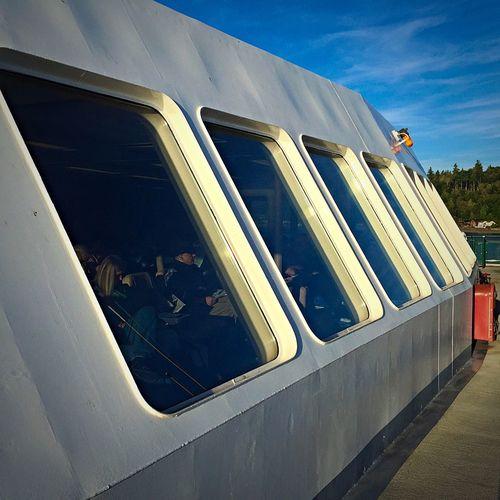 Bainbridge Island Ferry Ferry Ferry Passengers Seattle Seattle Skyline Seattle, Washington Sunrise Washington Ferry Windows My Commute