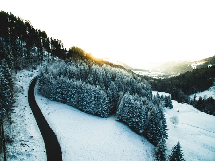 Cold Temperature Winter Snow Scenics Landscape Frozen Outdoors Nature Mountain Areal