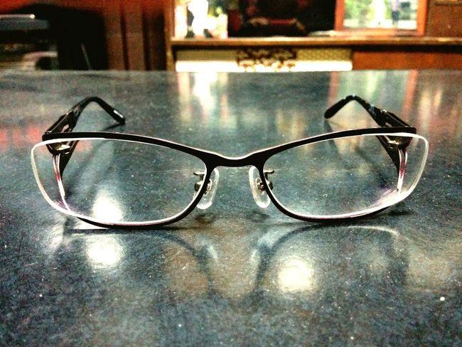 眼鏡新調。 Glasses New Glasses