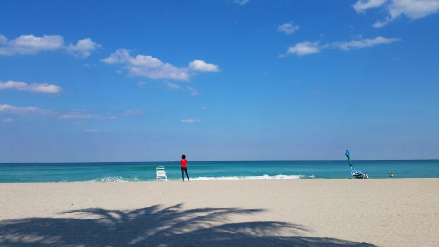 Looking away Miami, FL Peace And Quiet Peace ✌ Beach Beauty In Nature Blue Cloud - Sky Day Holiday Horizon Horizon Over Water Idyllic Land Nature Outdoors Sand Scenics - Nature Sea Sky Sunlight Tranquil Scene Tranquility Water Modern Hospitality