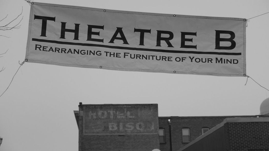 December 19, 2016 / Downtown Fargo Architecture Black And White Building Exterior Built Structure City Close-up Communication Day Downtown Fargo Fargo Guidance Hotel Bison Low Angle View Monochrome No People North Dakota Outdoors Text Theatre Bay Area Awards