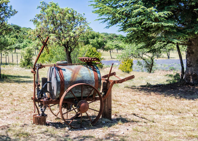 Rusted farming equipment, France Corrosion Farm Farming Vehicles Rural Rust Agriculture Dilapidation Equipment Rusty Weatherbeaten