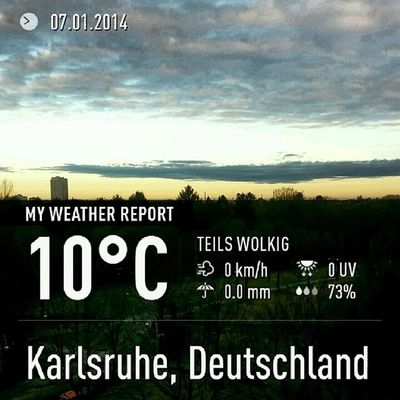 Instaweather Instaweatherpro Weather Wx android sky outdoors nature world love followme follow beautiful instagood fun cool like life nice happy colorful photooftheday amazing karlsruhe deutschland day winter clouds morning de