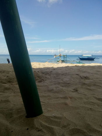 Shade of Beach Beach Sea Sand Horizon Over Water Water Sky Travel Destinations Day No People Tranquility Vacations Outdoors Colour Your Horizn EyeEmNewHere