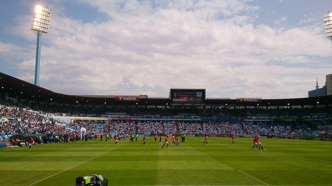 Un Partido de mi Real Zaragoza en el Estadio Municipal De La Romareda