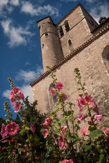 Castel of flowers Hanging Out Taking Photos Castle Landscape Check This Out Hello World Enjoying Life Tranquil Scene Taking Pictures Taking Photos Saint Cirq Lapopie Scenics Outdoors Outdoor Lot Et Garonne No People Built Structure Exterior Façade City Village Check This Out Still Life Day Plant