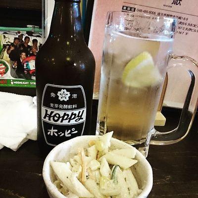 ホッピーで祝杯♪ Drinking Hoppy 酒場