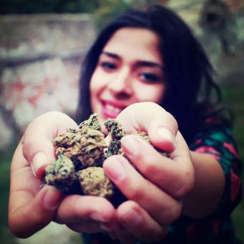 Weed High Laugh with Twin Sister