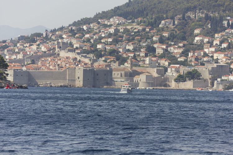 Dubrovnik Dubrovnik, Croatia Croatia Outdoors Walls Fortified Wall Fortified Walls Cityscape Water Architecture Sea Built Structure Building Exterior Building City Waterfront Nature Town Day Residential District No People Mountain Sky Marine TOWNSCAPE