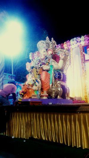 GanpatiVisarjan EyeEm Best Shots Culture Chaturthi Visarjan Mumbai India Ganesha