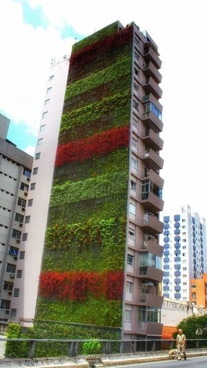 Vertical Farm Dramatic Eye Low Angle View Building Exterior Cityscape Built Structure Architecture Urban Skyline Outdoors My Dramatic Look  ELEVADO MINHOCÃO São Paulo, Brasil