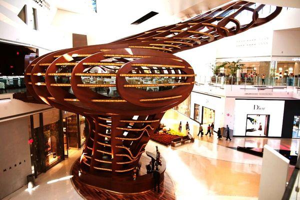 Restaurant in shopping mall Las Vegas