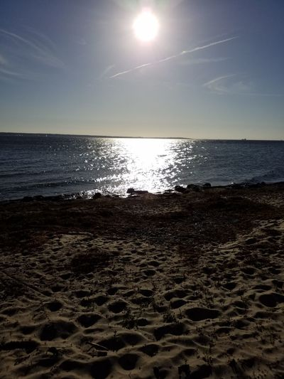 Finely Slowly Spring coming to Sweden🇸🇪❤😎 Travel Fun Nature Peacfull Place Welness Hope Warm City Water Sea Astronomy Beach Sand Sunset Moon Sun Reflection Sky Seascape Coast
