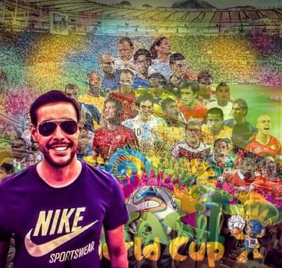 My World Cup picture with some Art Skins. Brazil Stockholm Football