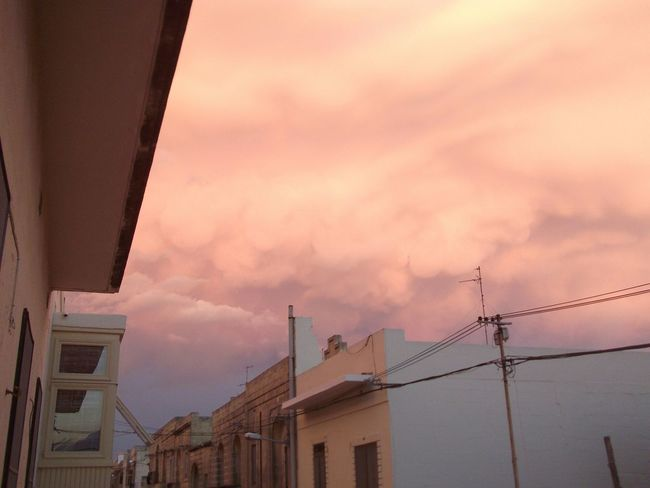 what happened to the sky??? it's orange!! My Photography No Filter Sky And Clouds Colors Of The Sky