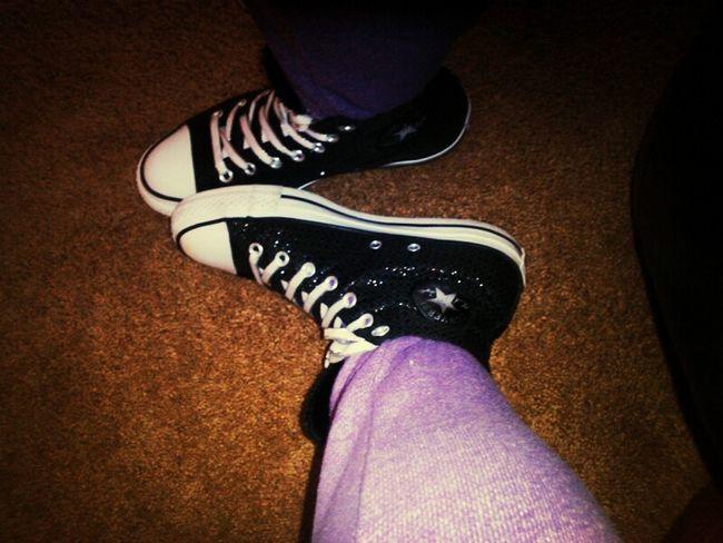 shimmery converses :) Converse #KicksOfTheDay I Love Converse Todays Kicks