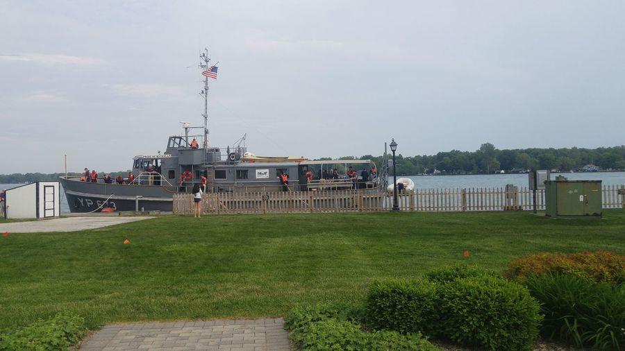 Hanging Out Taking Photos Enjoying Life St. Clair River Waterfront Spirit Of Algonac Canada Pride Of Michigan
