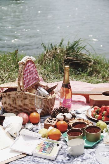 Wine Not Picnic Picnic Basket Basket Outdoors Picnic Basket Beach Day Table Sommergefühle From My Point Of View EyeEmNewHere Lifestyles Summer Food And Drink Chair Healthy Eating Picnic Grass Bread Wineglass Fruit Nature Tree Freshness