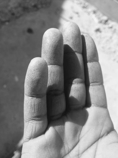 Human Hand Uniqueness Fingers Print Human Body Part Close-up Origins Beauty Outstanding Attentiontodetail