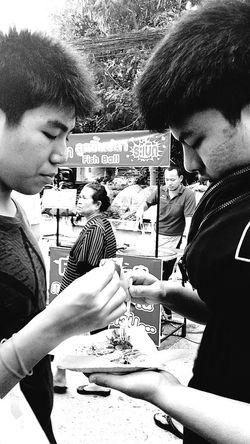 Sons Pancake Sunday Market At Lamai Lamai_samui_thailand