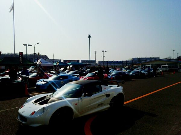 ロータス達 Lotus Car Circuit Japan Race Tukuba