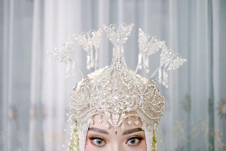 Preparation wedding bridee