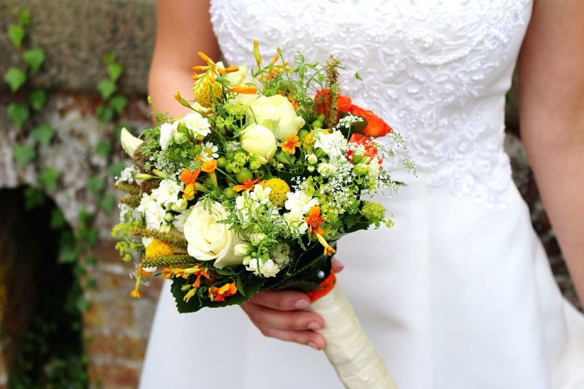 Brautstrauß Brautstrauss Hochzeit Married Wedding Flower Flower Arrangement Bouquet