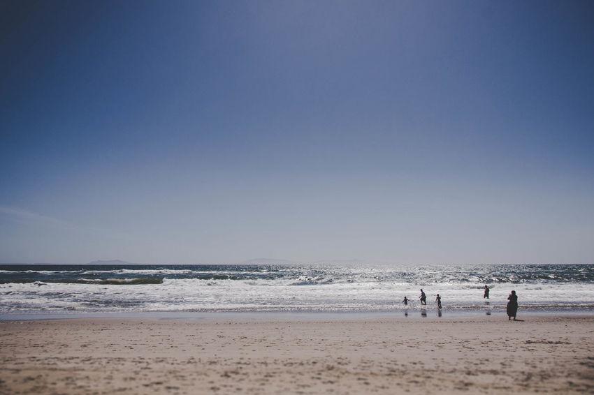 Photography Evanscsmith Photographerinlasvegas Photo Sportsman Water Wave Sea Full Length Beach Pets Sand Dog Blue Lifeguard  Surf Tide Coast Rushing Seascape The Great Outdoors - 2018 EyeEm Awards