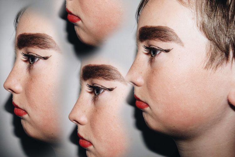 Portrait Portraiture Portraiturephotography Boy Surrealism Makeup Weird Surreal Surrealist Art Surrealism Photography Surrealistic