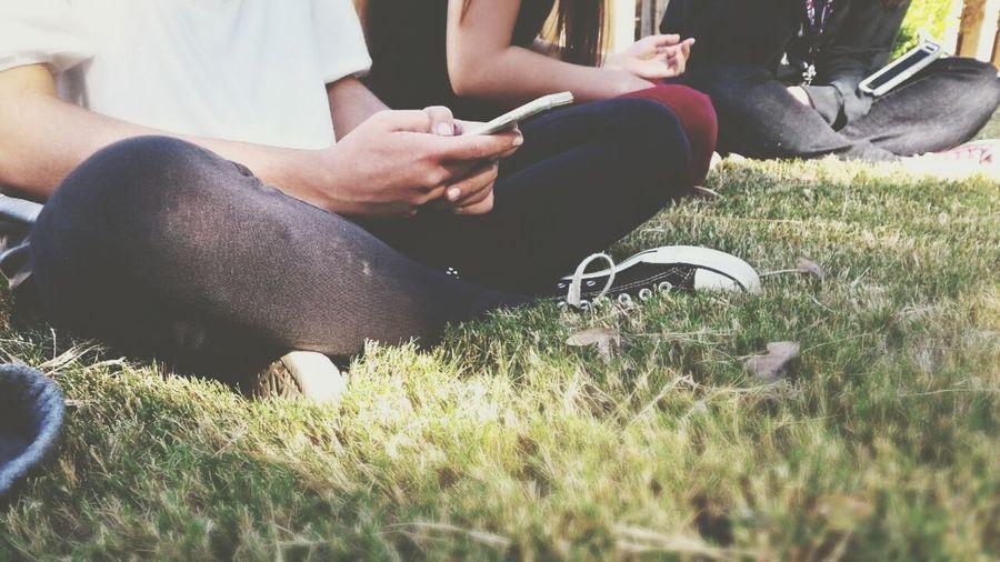 field trip!!!! Field Trip Converse Fall Days Sitting On Grass Vintage Cell Phone  Teen Teens School School Life