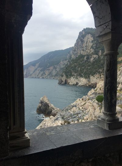 Nature Travel Traveling Beauty In Nature Cliff Day History Italy Liguria Mountain Nature No People Outdoors Sea Sky Tourism Travel Destinations Water