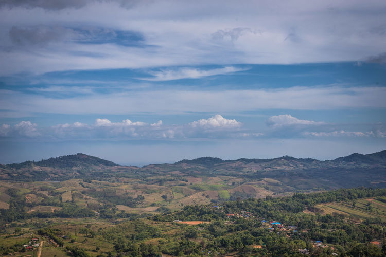 Khao Kho at Phetchabun, Thailand Cloud - Sky Beauty In Nature Scenics - Nature Environment Sky Landscape Tranquil Scene Tranquility Mountain Nature Plant Tree Non-urban Scene No People Day Land Outdoors Idyllic Growth Mountain Range