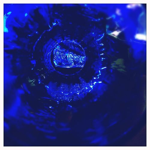 Blue Cocacola Coke Coke Glass Float Glass Taking Photos IPhoneography