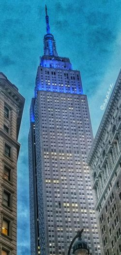 Empire State Of Mind Spring Hdr_Collection Cityscapes Herald Square Empire State Building Streetphotography Taking Pictures Architecture Urban Landscape Landscapes With WhiteWall