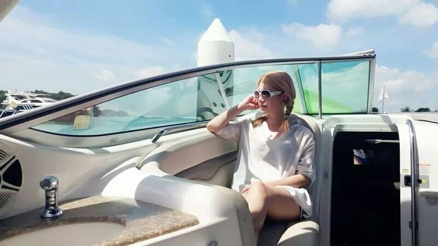 Yachting Summer Rest And Relaxation Privateyacht Holiday