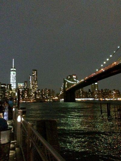 Architecture Bridge Bridge - Man Made Structure City Cityscape Engineering Illuminated International Landmark Night River Suspension Bridge Water Waterfront