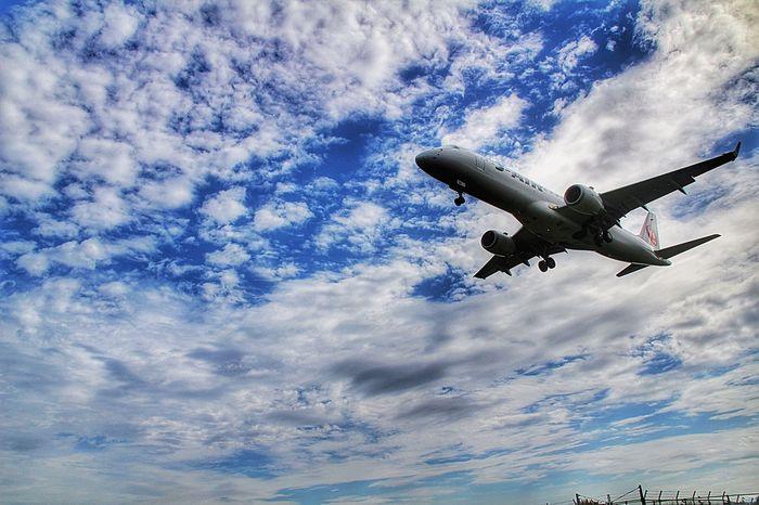 あなたのいるソラを仰ぐ。 Flying Airplane Sky Japan あなたがいるソラ あなたと見隊 千里川 伊丹空港 くもらぶ 会いたい