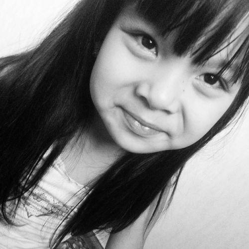 My Little Sister  Selfie Black And White Selfportrait